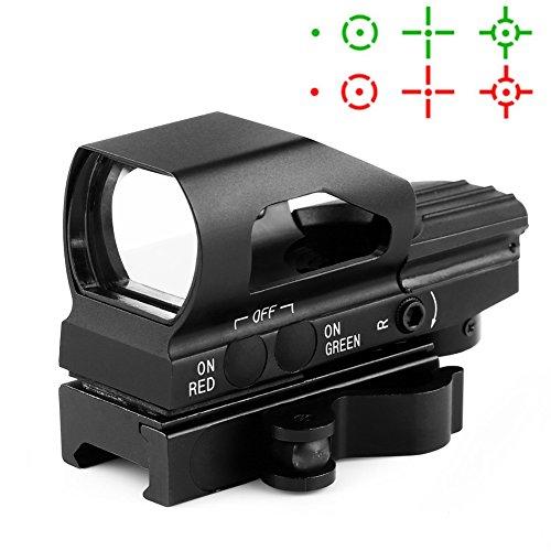 Dot Moa Red Sight 1 (HD104 Leuchtpunktvisier, Reflexvisier, Red Dot Visier, 1x23x34 für 22mm Weaverschiene)