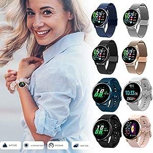 Rlorie Pulsera De Actividad Inteligente Rastreador Deportes Deportiva con Pulsómetro Monitor De Ritmo Cardíaco 1,22… 7