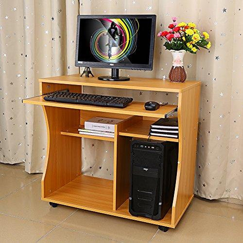 Mini Scrivania Porta Pc.Yosoo Scrivania Porta Pc Tavolo Per Ufficio Computer Scaffale