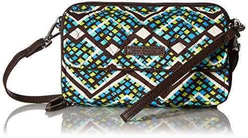 Vera Bradley Damen Umhängetasche, Handtasche, Rain Forest, Einheitsgröße -