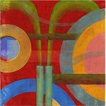 Alu Dibond 70 x 70 cm: 30633 Tisa Schlemm Neo Geo blue Landscape II de Joost Hogervorst / MGL Licensing
