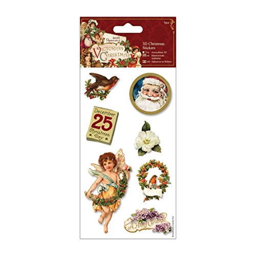 Papermania Victorian Christmas 3D Stickers-