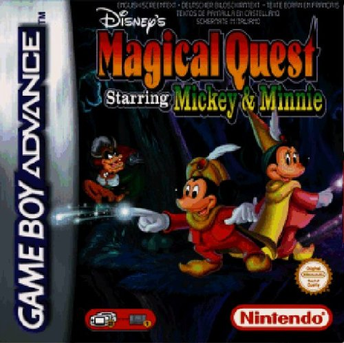 Gameboy Spiele Disney (Magical Quest - Starring Mickey & Minnie)