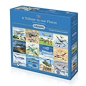 Gibsons A Tribute a Nuestro Puzzle de Sierra de Puzzle, 1000 Piezas