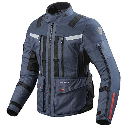 REV IT Sand 3Moto Jacket Small Dark Blue Black