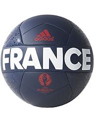 adidas Euro16 France Mini Ballon Collegiate Navy/White/Power Red Taille 1