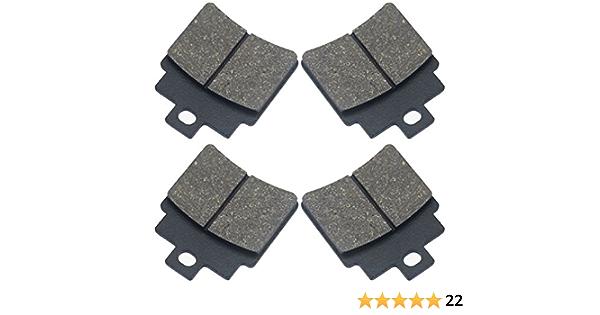 4 Pads Marken Bremsklötze Bremsbeläge Ersatzteil Für Kompatibel Mit Kymco Mxu Kxr 250 Maxxer 250 300 Hinten Auto
