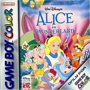 Alice aux pays des merveilles game boy color