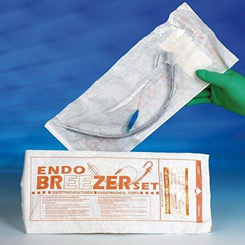 Endo Breezer 04472256 Endotrachealtuben, Universalmodell ohne Ballon, CH 18, Aussen: 6,2 mm Durchmesser, Innen: 4,5 mm Durchmesser (11-er Pack)