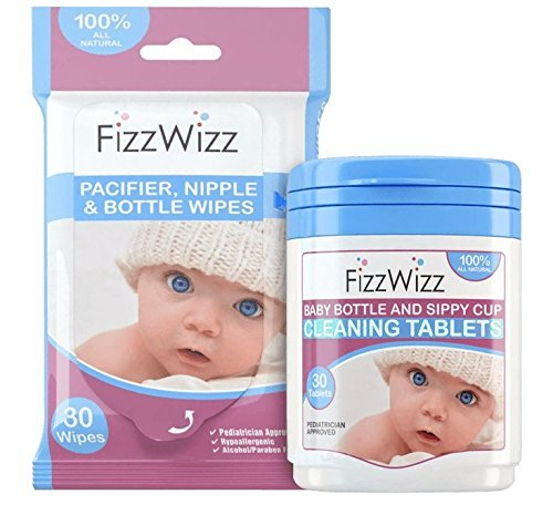 FizzWizz-Baby-BottleSippy-Cup-Cleaning-Tablets-and-Pacifier-Wipes