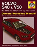 Volvo S40 and V50 Petrol and Diesel Service and Repair Manual: 2004-2007 (Haynes Service and Repair Manuals) by Martynn Randall (2008-02-14)