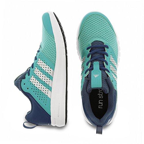 Adidas B40261 Madoru W Scarpe da Corsa da Donna, Blu / Argento / Bianco Visgre/Silvmt/Solred
