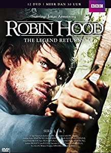 Robin Hood - The Legends Returns - The Complete Series 1 - 3 [ 2006 - 2009 ] 12 DVD Box + extra's  (Dutch Import)