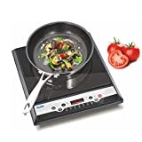 Glen Gl 3070 Ex Induction Cooktop - Digital Display, Pre-Set Cooking Function - 1400 Watt
