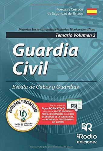 Guardia Civil. Escala de Cabos y Guardias. Temario Volumen 2. Edición 2017: Volume 2