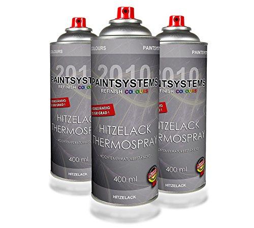 PAINTSYSTEMS REFINISH COLOURS Hitzelack/Thermospray 3 x 400ml