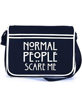 Messenger Bag AHS - Normal People Scare Me