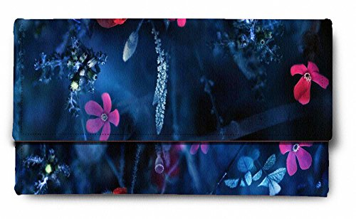 Sleep Nature's Flowers Vector Printed Ladies Wallet