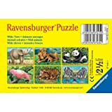 Ravensburger Spiel 07434 - Wilde Tiere, 6 Teile