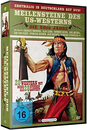 Meilensteine des US-Westerns - Deluxe Box [10 DVDs]