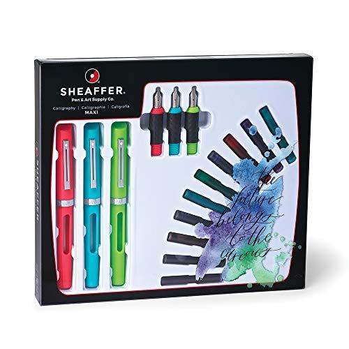 Sheaffer - Juego caligrafía incluye 3 plumillas distinto