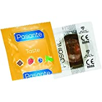 Pasante Aroma Kondome mit Geschmack (144er Packung, Pasante Chocolate Temptation) Condoms aromatisiert Schokolade... preisvergleich bei billige-tabletten.eu