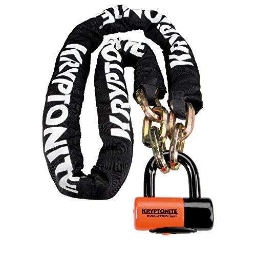 Price comparison product image Kryptonite New York Chain 1217 Bicycle Lock with Evolution Series-4 14mm Disc Bike Lock