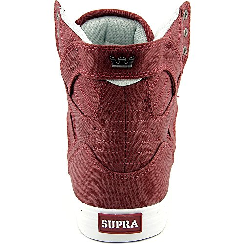 Supra Skytop, Baskets Basses Homme Bordeaux