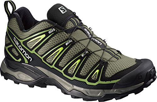 SalomonX Ultra 2 - Scarpe da Arrampicata Basse uomo , multicolore (Multicolor (Nile Green/Black/Turf Green)), 41.5