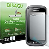 2 x Disagu Panzerfolie Displayschutzfolie für Samsung S7710 Galaxy Xcover 2 Bruchschutzfolie