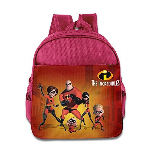 Los Increíbles película mochila niños escuela bolsas