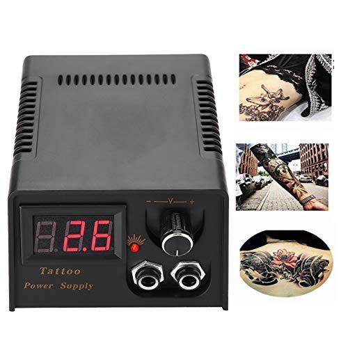 Netzteil für Tattoo Schwarzer LCD-Bildschirm Digital Tattoo Zubehör für Dual Power Interface Transformer Set(EU)