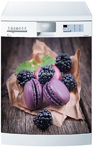 Preisvergleich Produktbild Sticker Spülmaschine oder Magnet Macarons 5503, Magnet 60x60cm