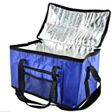 COOL BAG EXTRA LARGE 28L COOLER BOX PICNIC CAMPING FOOD DRINK LUNCH FESTIVAL ICE