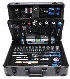 BGS Profi Werkzeug-Set 149-teilig (mit Alu Werkzeugkoffer, mit Steckschlüssel, Schraubendreher, Wasserwaage usw.) 15501
