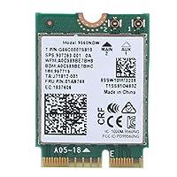 بطاقة واي فاي لاسلكية ل Intel 9560AC NGW، 1730Mbps 2.4G/5G ثنائي النطاق بلوتوث 5.0 بطاقة شبكة لسامسونج / Dell/Sony/ACER/ISUS/MSI/Clevo/Terransforce/Hasee