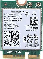 بطاقة واي فاي لاسلكية ل Intel 9560AC NGW، 1730Mbps 2.4G/5G ثنائي النطاق بلوتوث 5.0 بطاقة شبكة لسامسونج / Dell/
