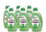 Eureka S.A Sensitive Flüssigwaschmittel mit Olivenölseife und Bio-Kamillenextrakt 1 L, 6er Pack (6 X 1L)