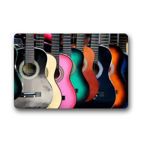 Felpudos Música de la guitarra felpudos cubierta antideslizante lavab