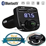 Spykart CAR X8 LCD Bluetooth Car Charger FM Kit MP3 USB Transmitter Mobile
