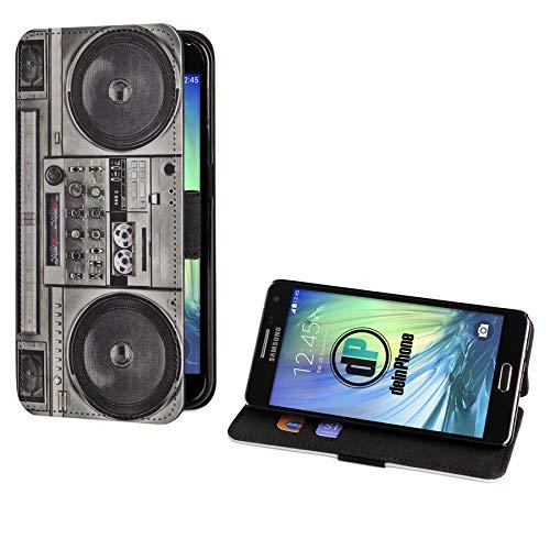 deinPhone Samsung Galaxy A5 (2015) Kunstleder Flip Case Ghettoblaster