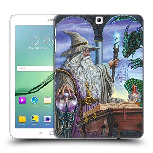 Head Case Designs Offizielle Ed Beard Jr Botschafter Drachen von Dem Zauberer Fantasie Ruckseite Hülle für Samsung Galaxy Tab S2 9.7