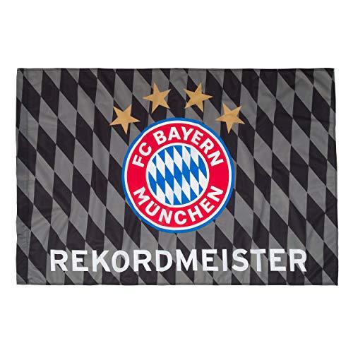Fahne 150 x 100 cm schwarz/rot/weiß FC Bayern MÜNCHEN FCB + gratis Sticker München forever, / rapeau / bandera / Flag / Flagge / Banner