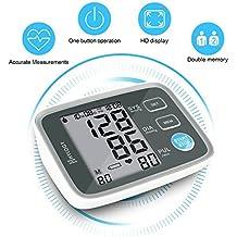 Hylogy Tensiómetro de Brazo Memoria (2 * 90) Certifica FDA CE (gris)
