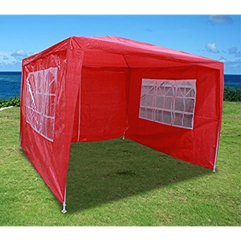 New 10'x10' Outdoor Party Wedding Tent Gazebo Events Pavilion - Red by Cielo- Blue