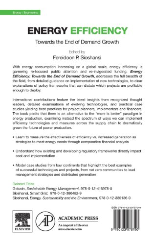 Energy Efficiency: Towards the End of Demand Growth