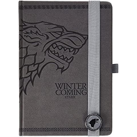 Game Of Thrones Premium Notebook A5 Stark
