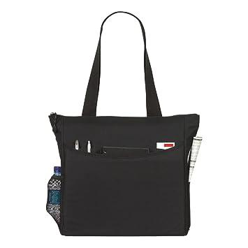 Shoulder Tote Shopping School Bag - Black: Amazon.co.uk: Kitchen ...