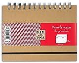 D.I.Y with Toga su70quaderno di ricette carta kraft 18.5x 13.5x 2cm