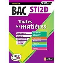 Toutes les matières Bac STI2D (Sciences et Technologies de l'Industrie et du Développement Durable) Tle